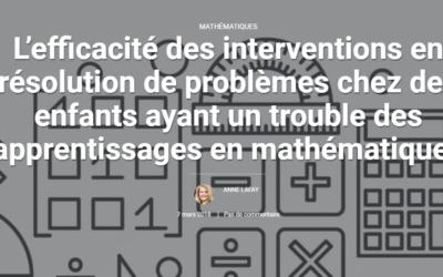 Interventions en résolution de problèmes (…)